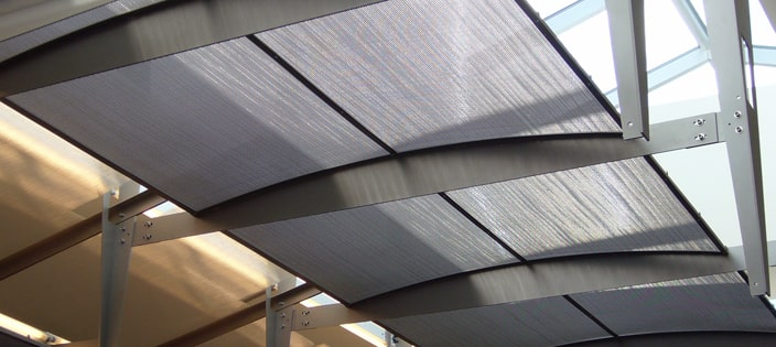 Airport-Ceiling-Mesh-Panels