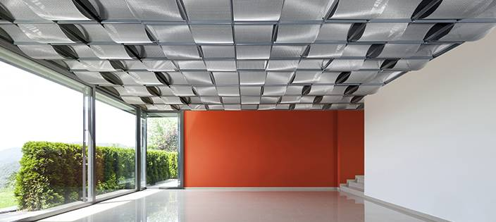How Architectural Wire Mesh Is Used for Ceiling Design