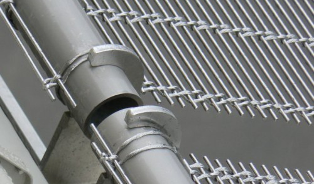 Individual Mounting Solutions for Architectural Wire Mesh Systems