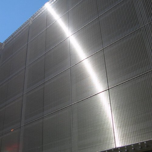 Why Architectural Mesh Is Predominantly Stainless Steel