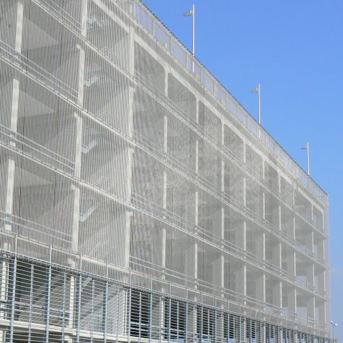 How Architectural Mesh Benefits Fall Protection
