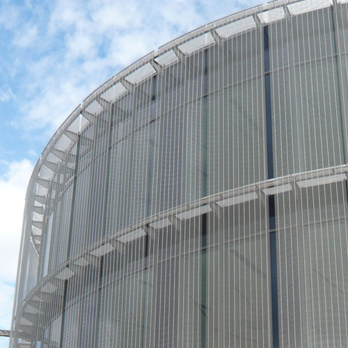 Pros and Cons of Architectural Mesh For Exterior Applications