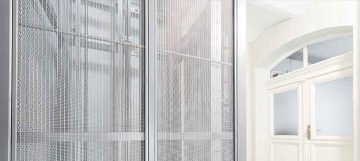 Reimagining Elevator Cab Interiors With Metal Mesh Fabric