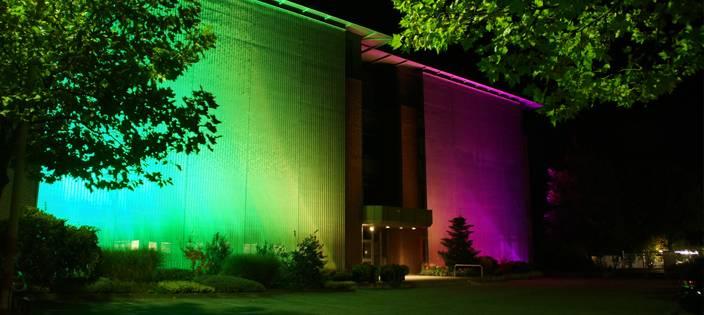 How Wire Mesh Panels Benefit Illumination Design